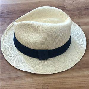 Jcrew Panama woven hat